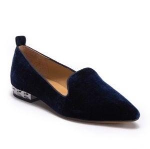 Franco Sarto Sadie 2 Velvet Loafer - like new
